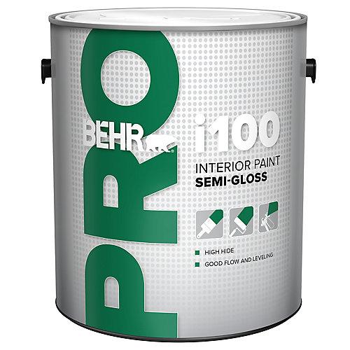 i100 Series, Interior Paint Semi-Gloss - White Base, 3.79 L