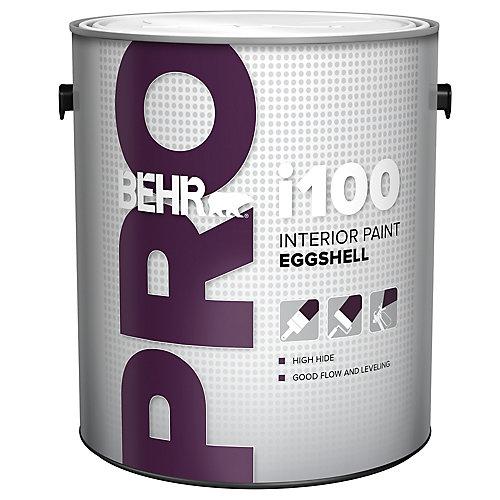 i100 Series, Interior Paint Eggshell - White Base, 3.79 L