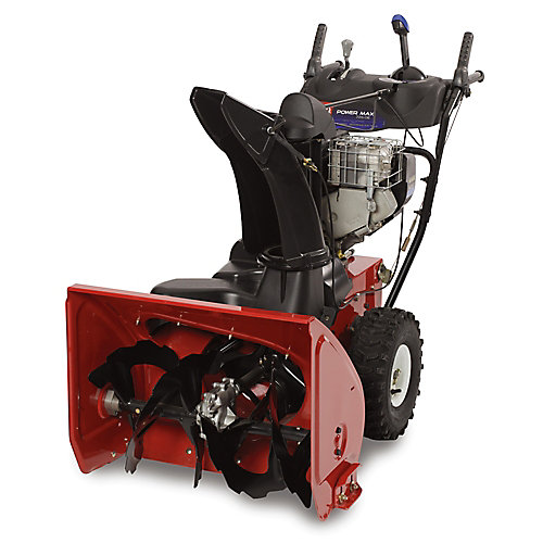 Power Max 726 OE Two-Stage Electric Snow Blower with 26-Inch Clearing Width