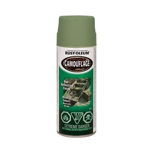Rust-Oleum Specialty Peinture À Fini Camouflage En Vert Armée Mat - 340 G Aerosol