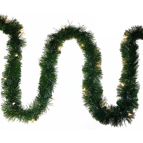 Guirlande lumineuse à 50 ampoules à DEL Holiday Classics, 18 po