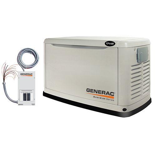 Generac Guardian Series 17,000 Watt (LP) / 16,000 Watt (NG) Automatic Standby Generator