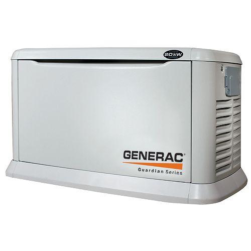 Generac Guardian Series 20,000 Watt (LP) / 18,000 Watt (NG) Automatic Standby Generator