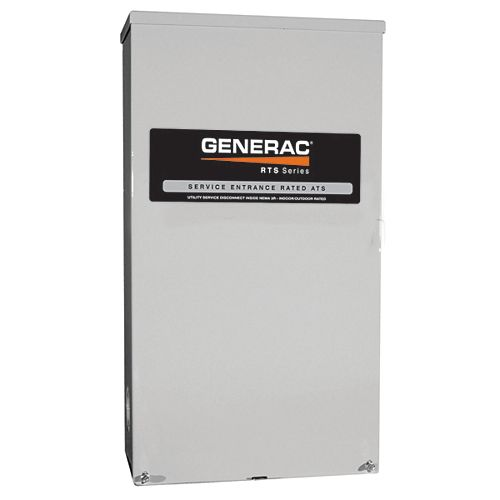Generac Commutateur de transfert automatique 120/240 V Nema 3R de 100 A de service homologué CSA