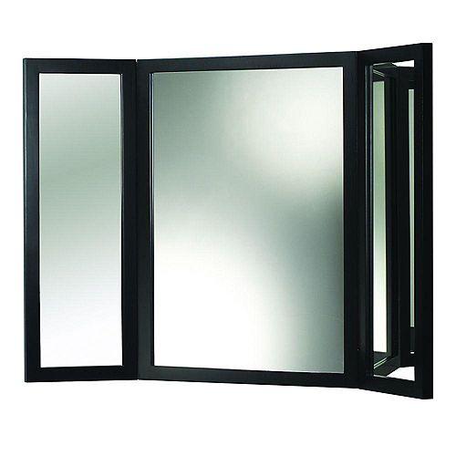 """City Loft  Miroir trois pans 49"""""""