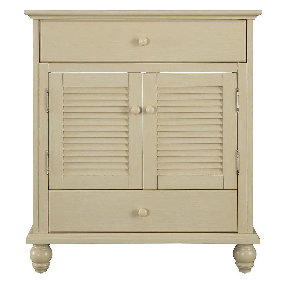 Foremost Cottage 30-inch W Bath Vanity Cabinet Only in ...
