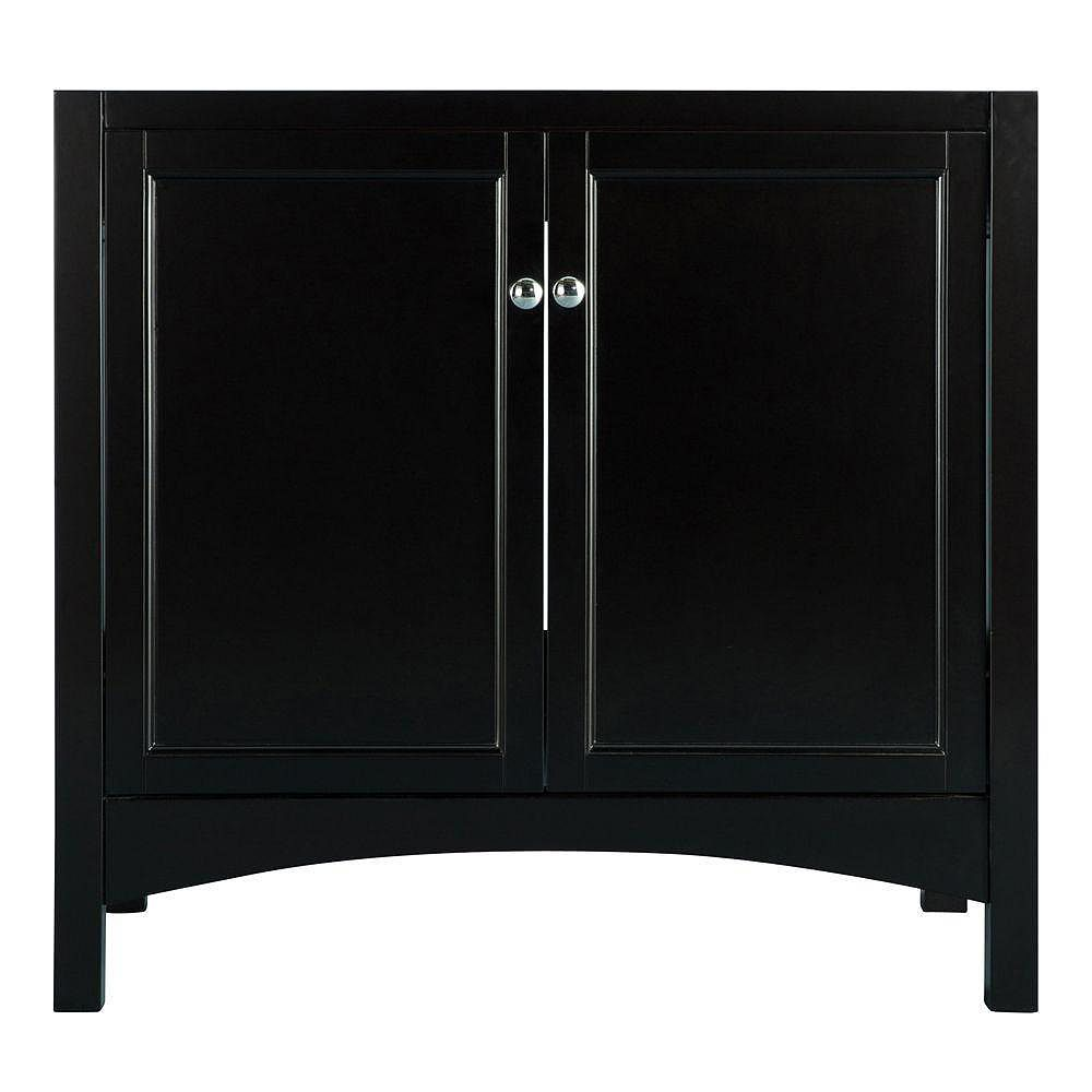 Foremost Haven 36-inch Vanity Cabinet Only in Espresso ...