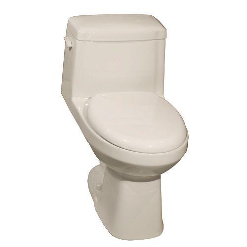 Aragon IV All-In-One 1-Piece 6 LPF Single Flush Elongated Bowl Toilet in Bone
