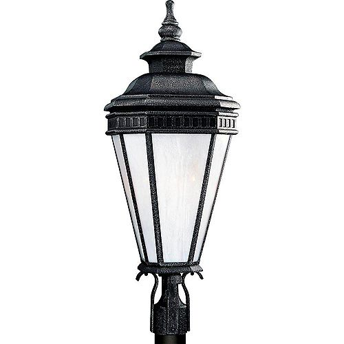 Lampadaire à 1 Lumière, Collection Georgian - fini Fer Doré