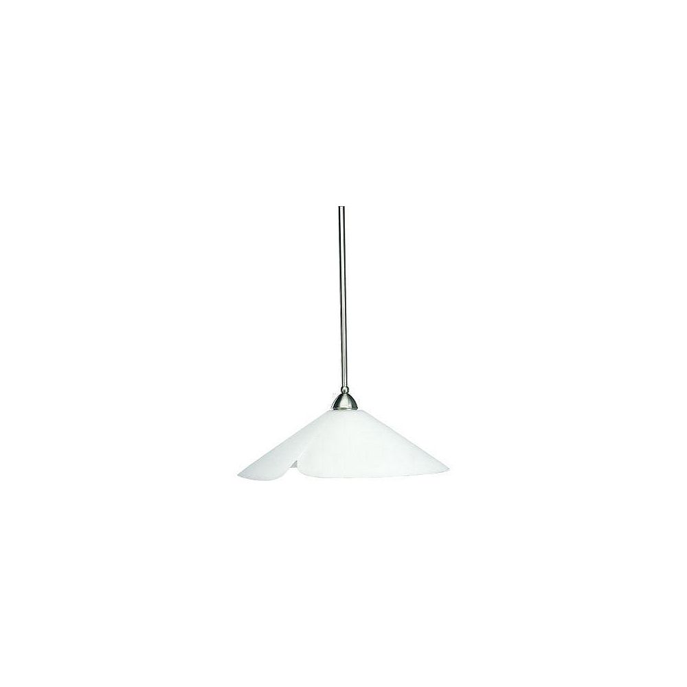 Progress Lighting Westend Collection Brushed Nickel 1-light Pendant