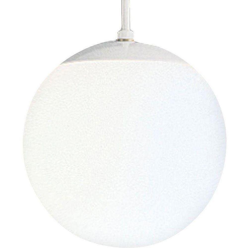 Progress Lighting Suspension à 1 Lumière - fini Blanc