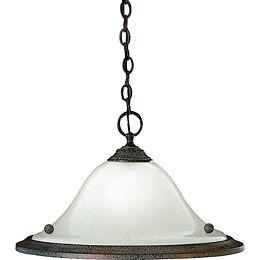 Athena Collection Copper Verde 1-light Pendant