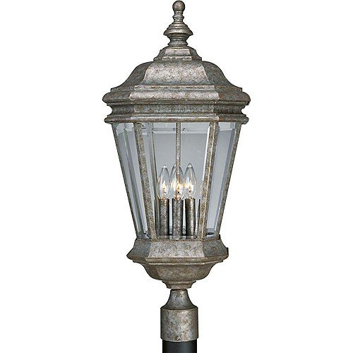 Lampadaire à 4 Lumières, Collection Crawford - fini Baroque d'or