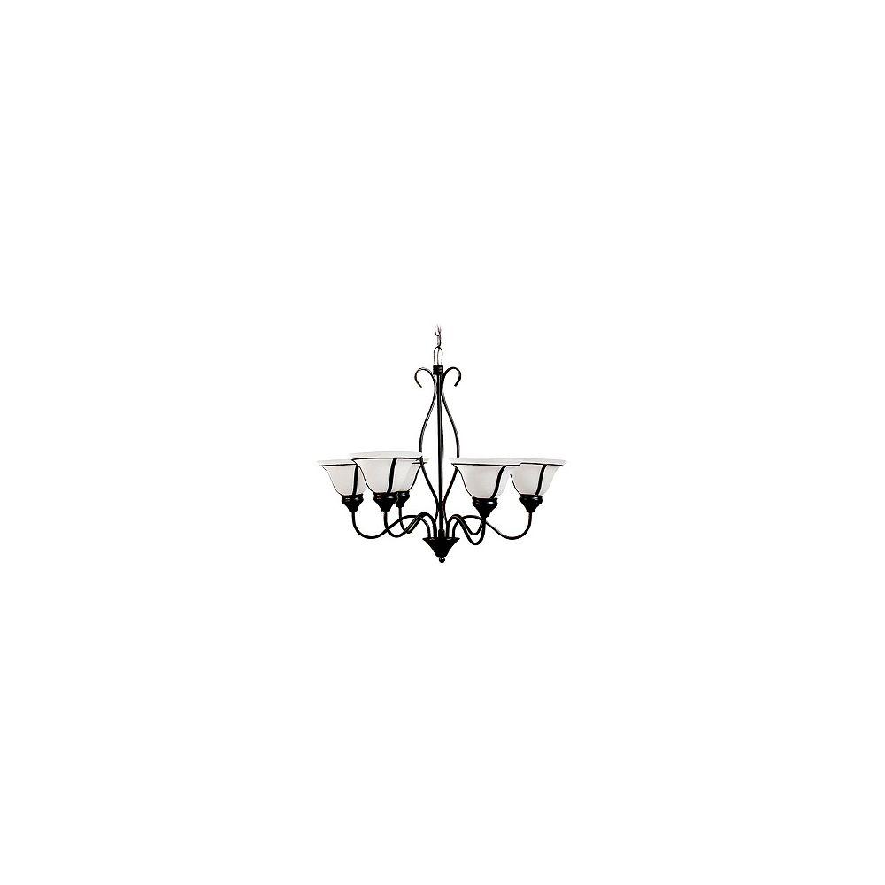 Hampton Bay Lustre Romanesque, 6 ampoules