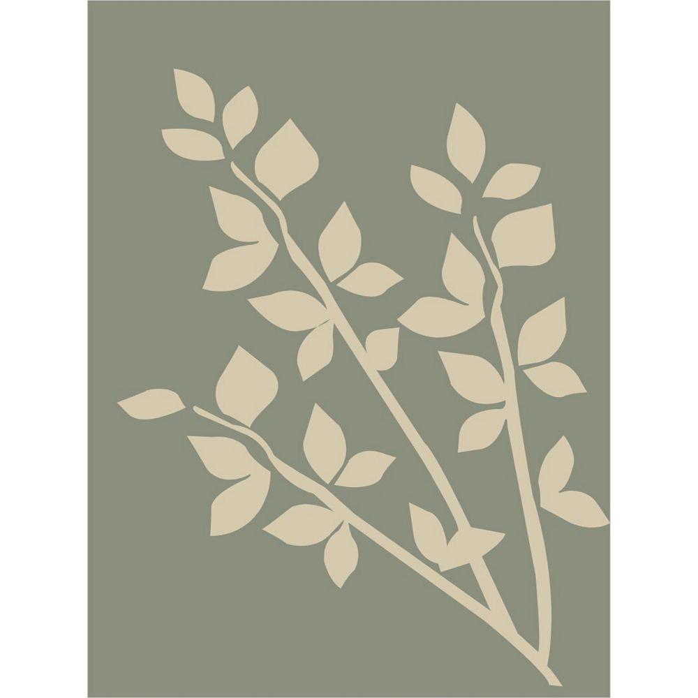 Lanart Rug Carpette d'intérieur, 9 pi x 12 pi, style contemporain, rectangulaire, gris Clay
