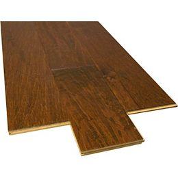 Mocha Hickory Engineered Hardwood Flooring