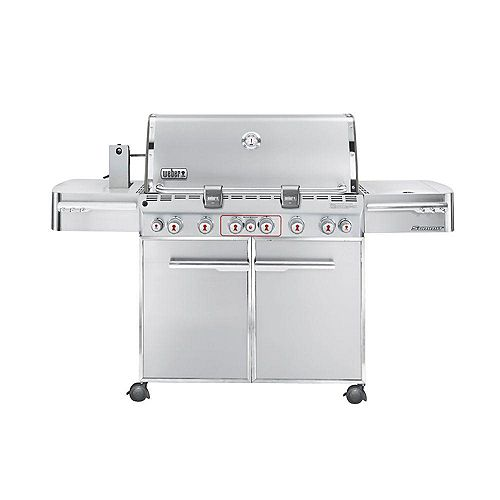 Summit S-670 6-Burner Propane Gas Barbecue in Stainless Steel