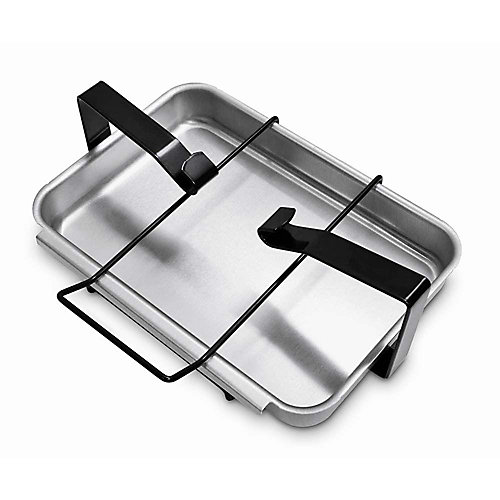 BBQ Catch Pan and Holder