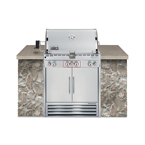 Summit S-460 barbecue au gaz naturel