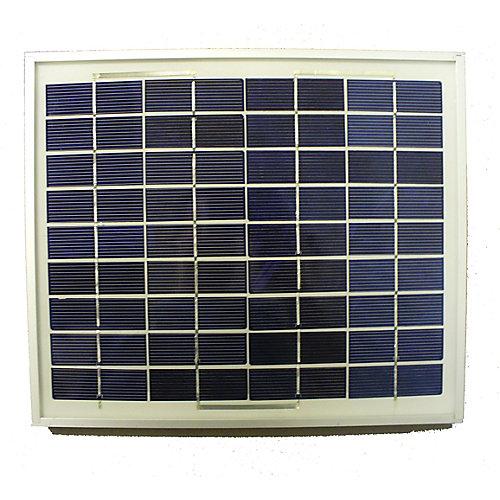 Panneau solaire 10 W pour ventilateur 12V