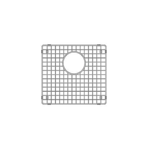 Precis U1.75 Sink Grid, Left Bowl, Stainless Steel