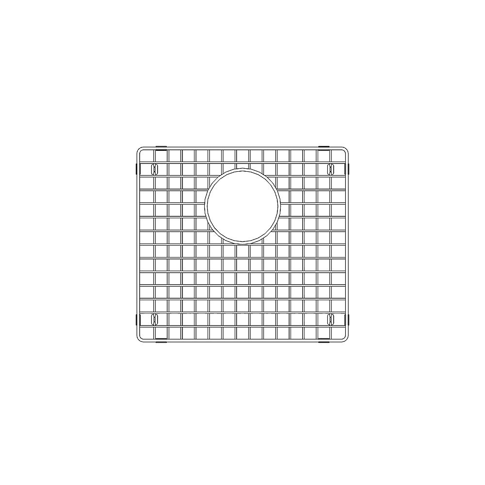 Blanco Large Bowl Sink Grid for PRECIS U 1.75, Stainless Steel