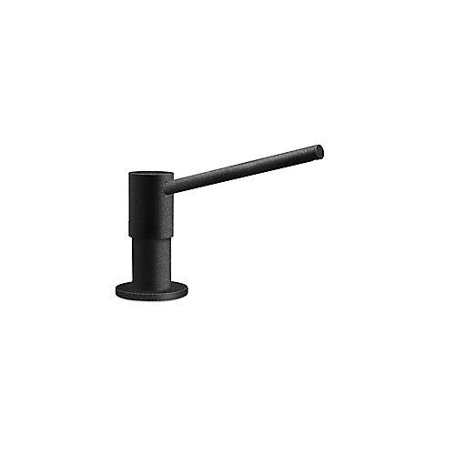 Soap Or Sanitizer Dispenser, Silgranit Anthracite