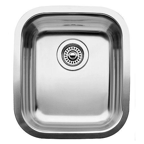 Blanco Supreme U  Bar and Prep Sink, Undermount, Stainless Steel
