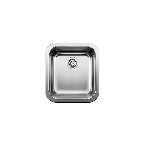 LINCOLN, Single Bowl Drop-in Bar/Preparation Kitchen Sink, Stainless Steel