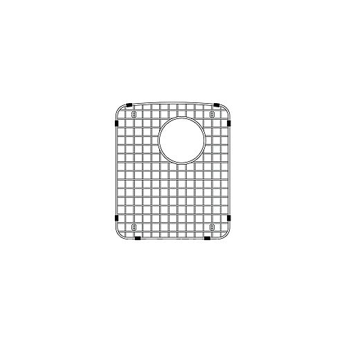 Blanco Left Bowl Sink Grid for DIAMOND Equal Double Sinks, Stainless Steel