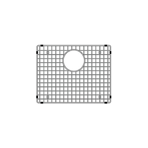 Precis Sink Grid Lg, Stainless Steel