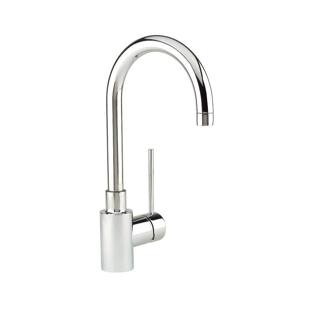 Blanco Premium Solid-Spout Kitchen Or Bar Faucet, Stainless Steel Finish
