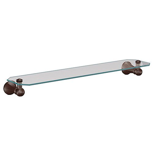 Vestige Oil Rubbed Bronze Glass Shelf