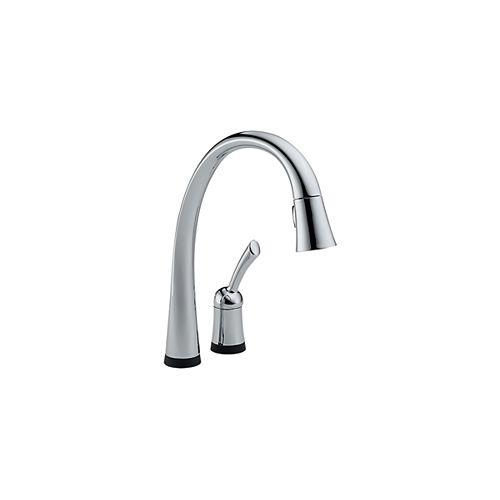 Pilar Pull-Down Kitchen Faucet - Chrome