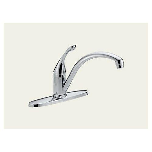 Delta Single Handle Kitchen Faucet, Chrome