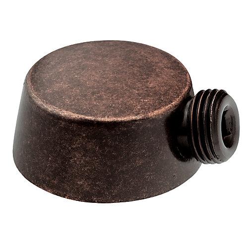 Coude de montage pour la douche à main 3867 (coude de montage seul.) - fini bronze huilé