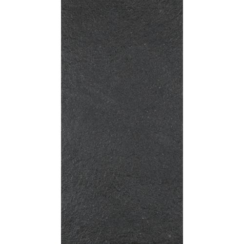 Eliane Ecostone Preto Natural 12-inch x 24-inch Porcelain Floor & Wall Tile -( 11.52 Sq. ft. / Case)