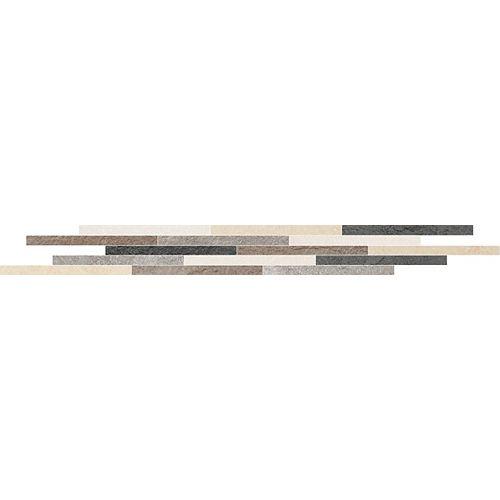 Eliane Kraft Color 1.5-inch x 16-inch Porcelain Floor & Wall Listello Tile