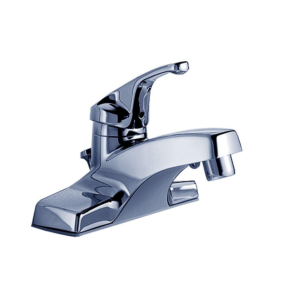 American Standard Robinet de salle de bains Colony 4 pouces à poignée unique en finition chrome poli
