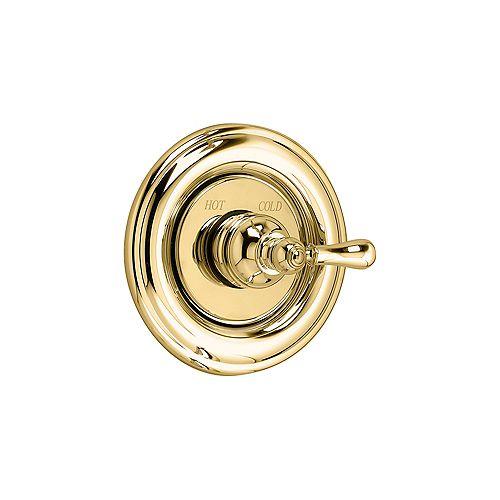 American Standard Hampton Single-Handle Wall-Mount Bath/Shower Valve Faucet in Polished Brass