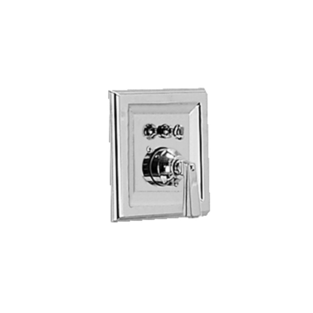 American Standard Town Square 1-Handle Bath/Shower Valve Only Trim Kit in Satin Nickel (Valve Not Included)