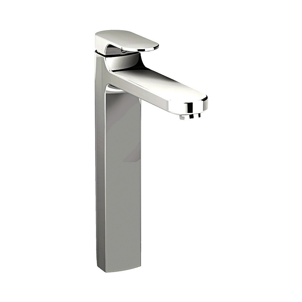 American Standard Moments Single Hole Single-Handle Low-Arc Bathroom Faucet in Stainless Steel Finish