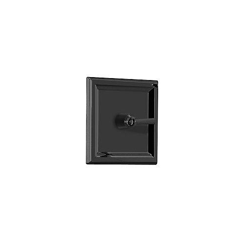 American Standard Kit de garniture du thermostat central de la place de la ville avec poignée métallique à levier en bronze noirci