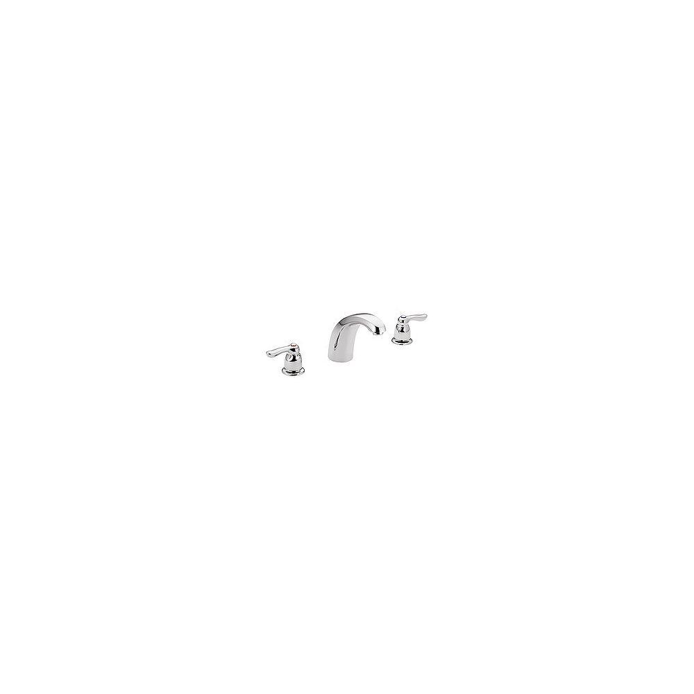 MOEN Chateau 2-Handle Low Arc Roman Tub Trim in Chrome (Valve Sold Separately)