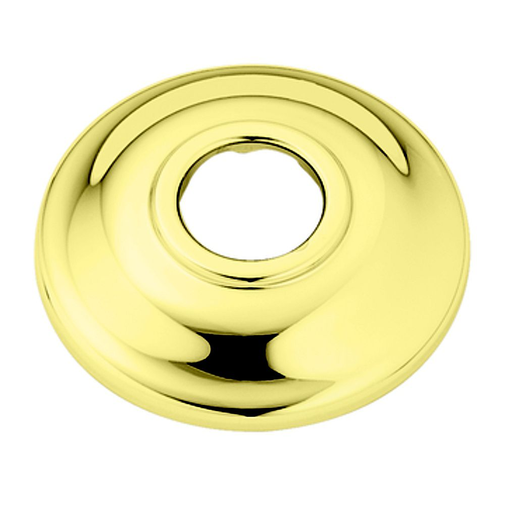 MOEN Polished Brass Shower Arm Flange