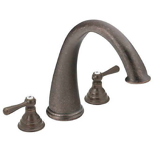 Kingsley Roman Bath Faucet in Oil-Rubbed Bronze (Valve Sold Separately)