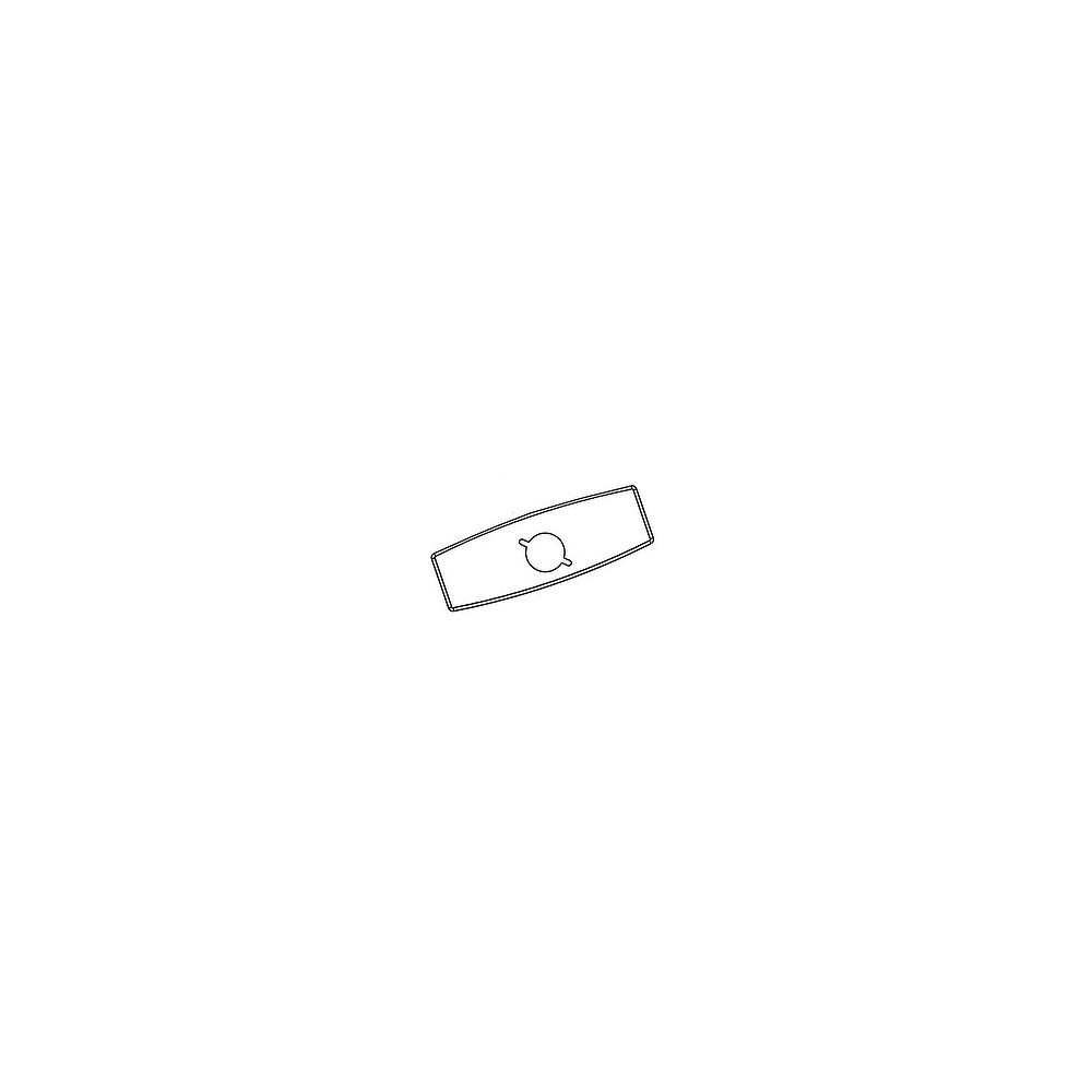 MOEN 4 Inch Deck Plate (With Mounting Kit) For 8305, 8306, 8307, 8308