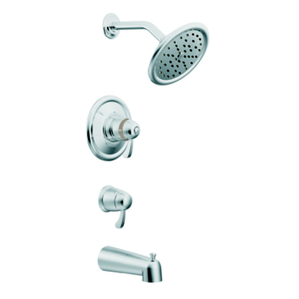 MOEN Exacttemp Bath/Shower Faucet in Chrome