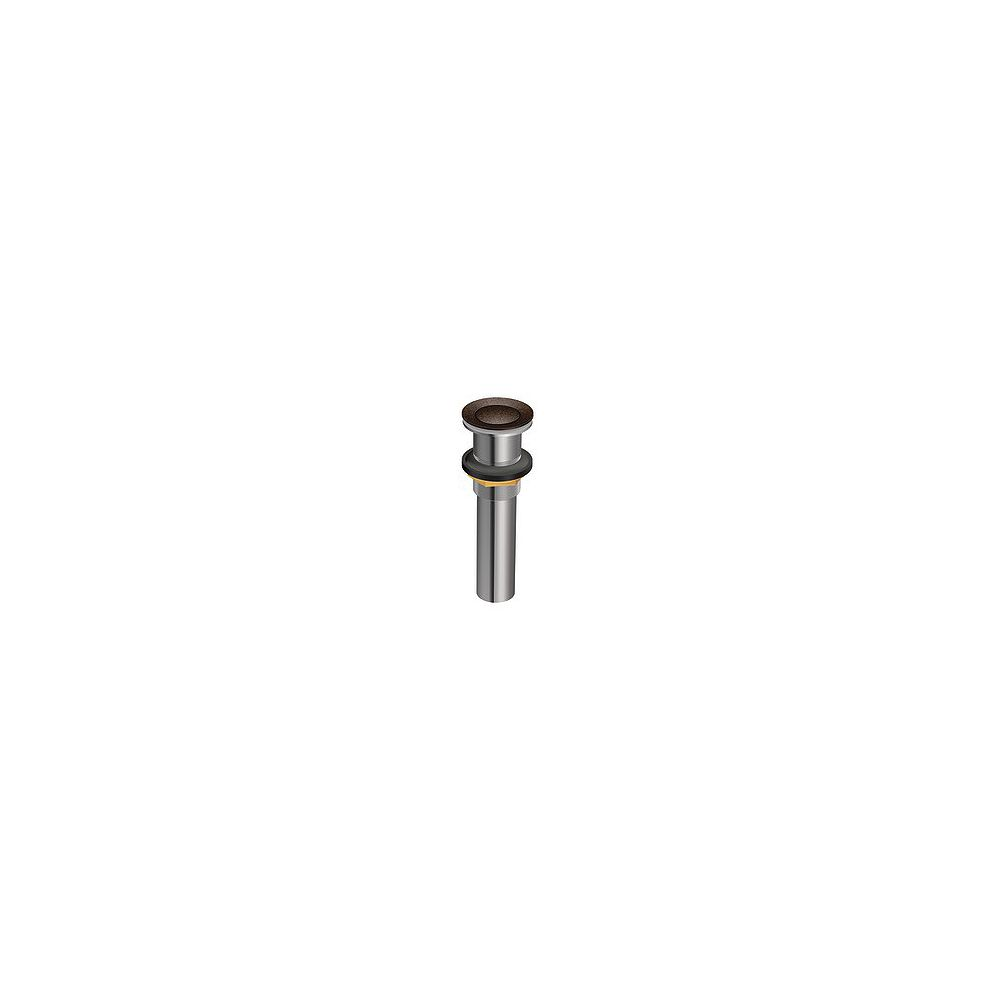 MOEN Lavatory Pop-Up Drain Assembly without Overflow in Oil Rubbed Bronze