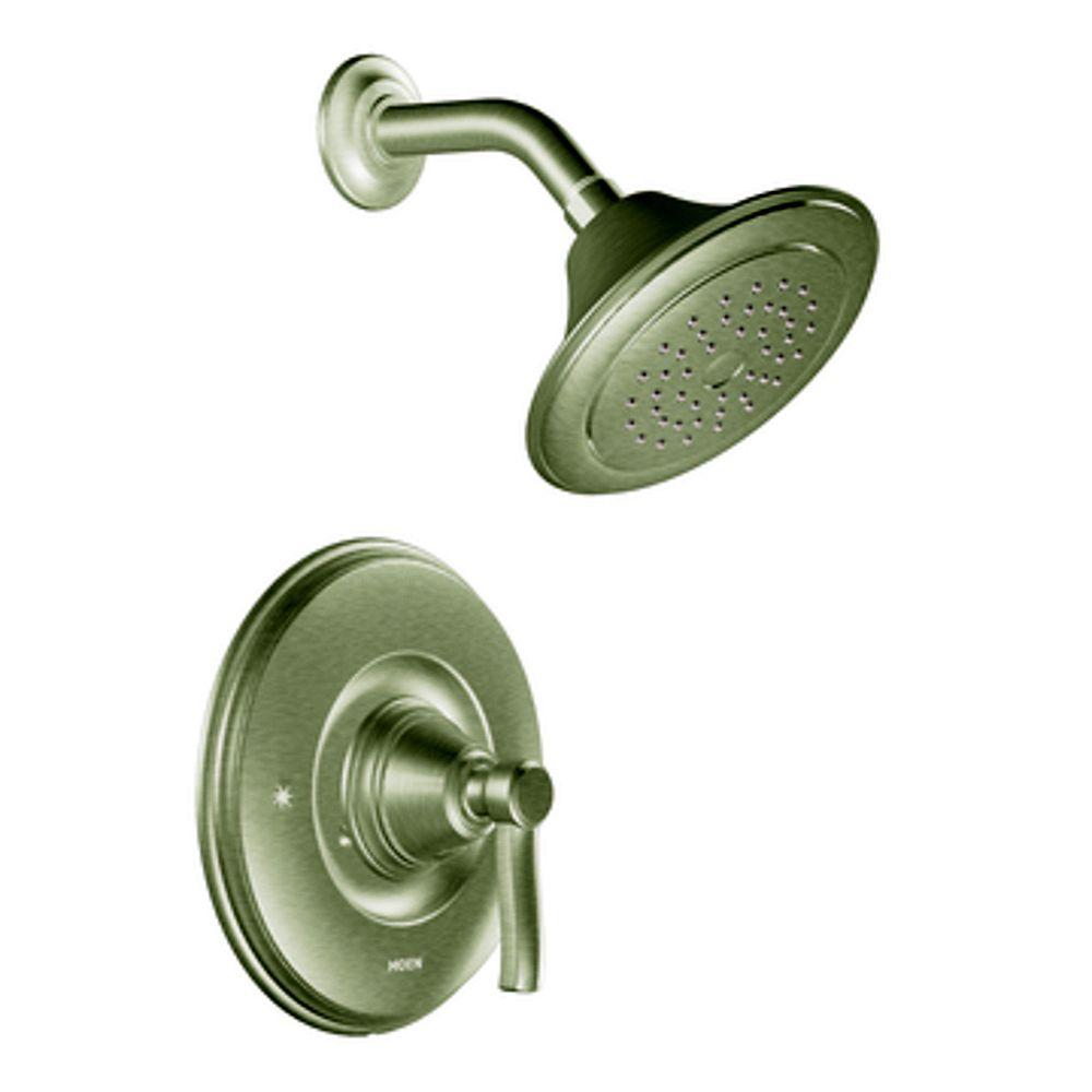 MOEN Rothbury Posi-Temp Showerhead in Brushed Nickel